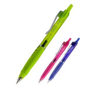 Ручка гелевая автоматическая Ergo & Quick dry ink 0,5 мм Axent AG1080-02-A синяя