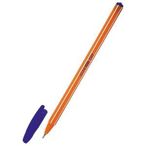 Ручка масляная CITY 0,7 мм Economix E10212-02 синяя
