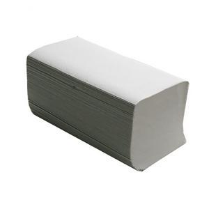 Полотенца макулатурные BUROCLEAN 10100106 V-образные 200 штук серый