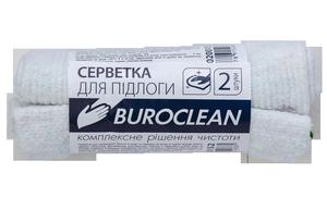 Салфетка для пола х/б, 2шт 50х50см, Buroclean 10200152