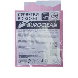 Салфетки вискозные 30х38см (3 шт) Buroclean 10200102