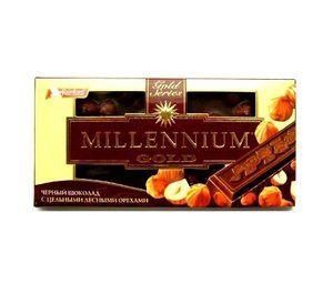 Шоколад Millennium Gold черный с орехами 33 100г 1057583