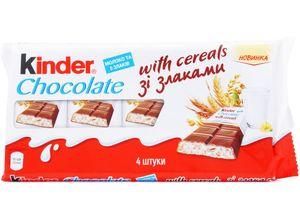 Шоколад молочный Kinder Кантри со злаками 94г 10594194