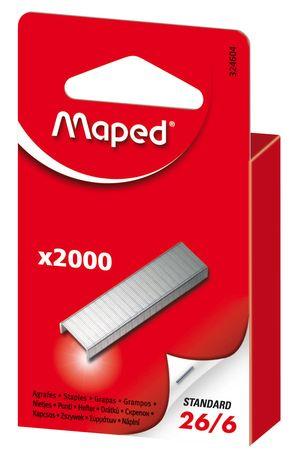 Скобы №26/6 (2000 шт) Maped MP.324604