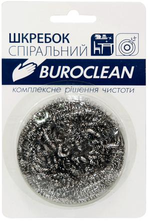 Скребок спиральный из нержавеющей стали, 1 шт, Buroclean, 10200400