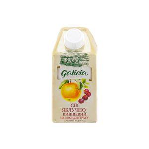 Сок Galicia яблочно-вишневый прямого отжима 0,5л 10549585