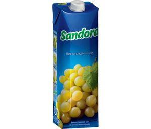 Сок Sandora белый виноград 0,95л 10719480
