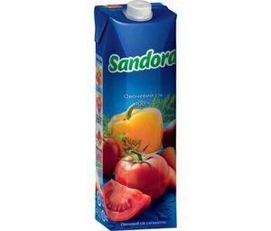 Сок Sandora овощной с мякотью 0,95л 10719489