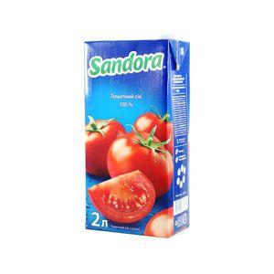 Сок Sandora томатный 2л 10326572