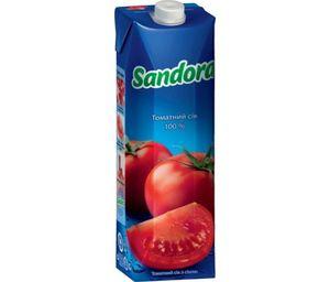Сок Sandora томатный с солью 0,95л 10719493