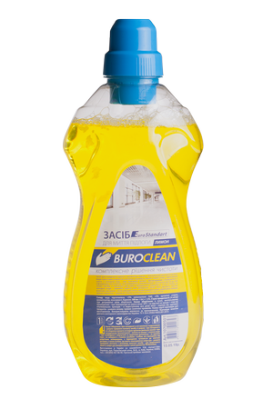 Средство для мытья пола, 1л, BuroClean EuroStandart 10700501( лимон)