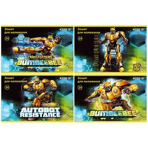 Тетрадь для рисования Transformers BumbleBee Movie 24 листа Kite TF19-242