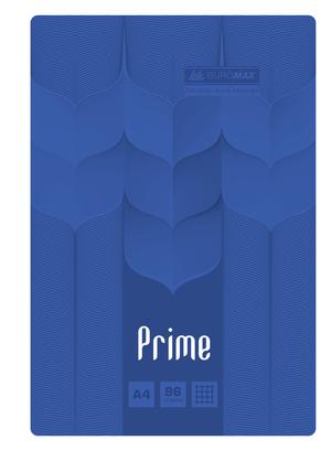 Тетрадь на пружине PRIME А4, 96 листов, клетка, в картонной обложке BM.24451101