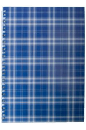 Тетрадь Buromax Shotlandka на пружине сбоку А-4 48 листов BM.2590