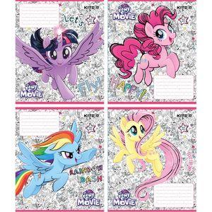 Тетрадь школьная 12 листов в линию My Little Pony Kite LP18-234