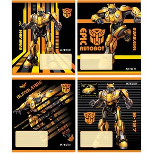 Тетрадь школьная Transformers BumbleBee Movie 12 листов в линию Kite TF19-234