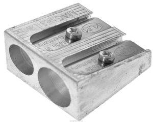 Точилка без контейнера метал. двойная клиноподобная Kum 410