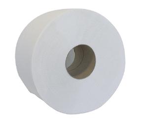 Туалетная бумага целлюлозная Джамбо 100м на гильзе Buroclean 10100061