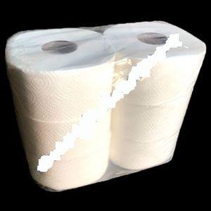 Туалетная бумага эконом d=19 см 2-х слойная Z-BEST целлюлозная (6шт) TJ016 0130875