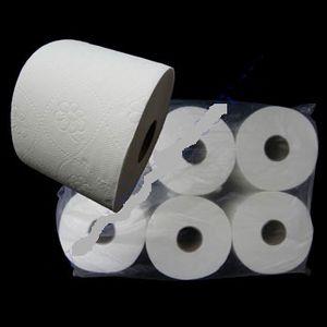 Туалетная бумага Z-BEST 6 рулонов/50 d=12.5cм 2-х слойная целлюлоза 0130860