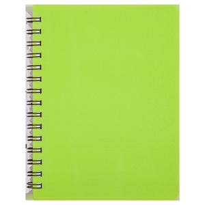 Тетрадь для записей BRIGHT, А6, 60 л., клетка, пластиковая обложка, BUROMAX BM.24654155