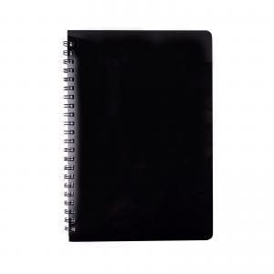Тетрадь для записей GLOSS, L2U, А5, 80л., клетка, пластиковая обложка BUROMAX BM.24552151