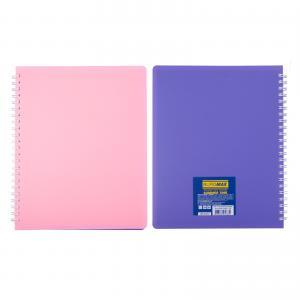 Тетрадь для записей SUMMER TIME, L2U, B5, 96л., клетка, пластиковая обложка BUROMAX BM.2466