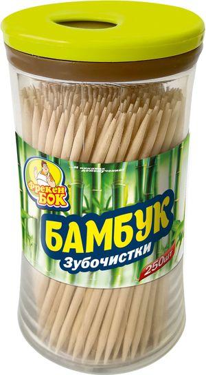 Зубочистки Фрекен Бок 250шт в стаканчике 0122123